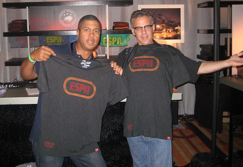 Stan Verrett and Neil Everett ESPN Gear
