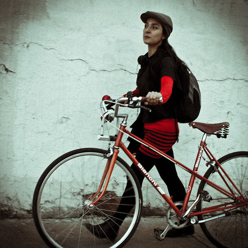 Caminando la bici