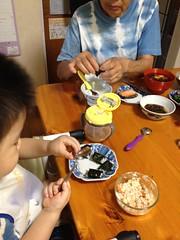 朝御飯 (2012/7/17)