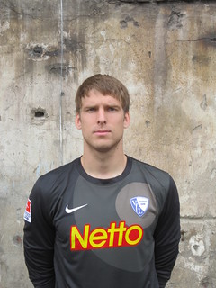 Andreas Luthe; VfL Bochum 1848 e.V.: Fotoshooting Mannschaftsfoto 2012/2013 (Jahrhunderthalle Bochum)