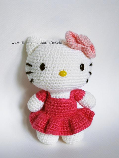 Hello Kitty Amigurumi Schema Italiano : Hello Kitty -dress Flickr - Photo Sharing!