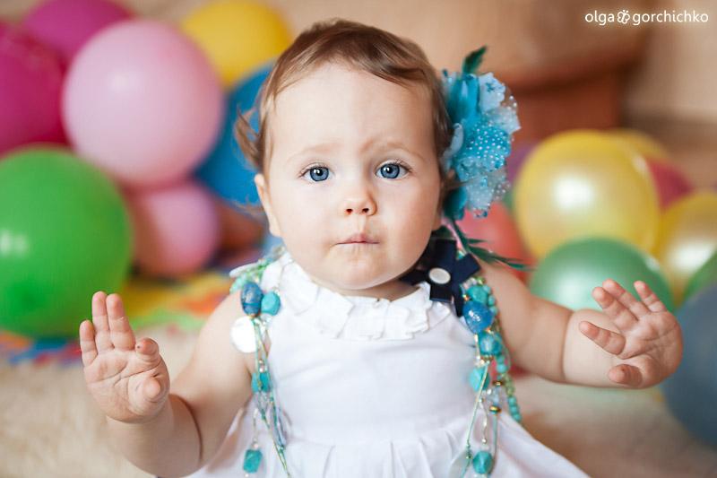 Первый день рождения Софии