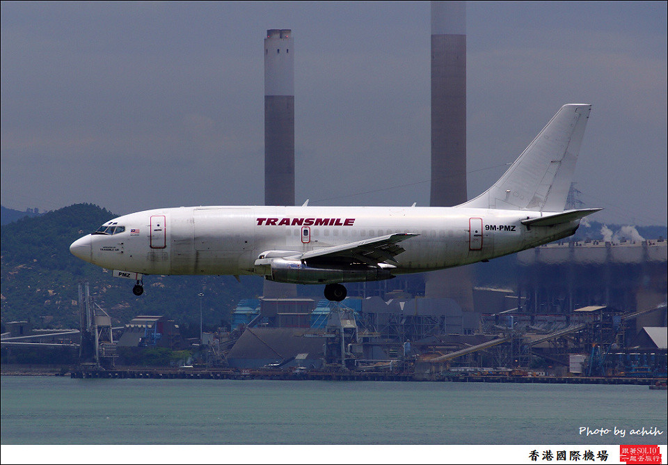 Transmile Air Services / 9M-MPZ / Hong Kong International Airport
