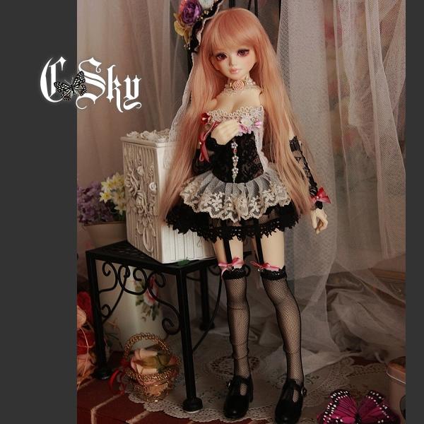 【Auctoin】『C-Sky』Unoaユノア少女 巨乳用洋服セット_Vol.34 - hidari - + Crystal Sky +