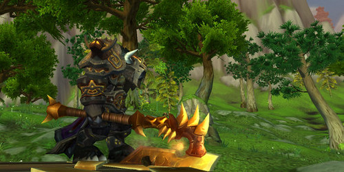 Mists of Pandaria Warrior Talents Tree Guide