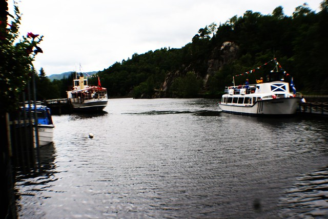 Pier at Loch Katrine, Trossachs