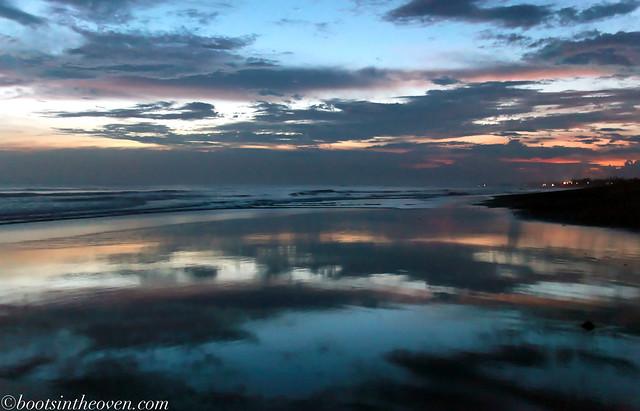 Bali Beach Sunset, Berawa