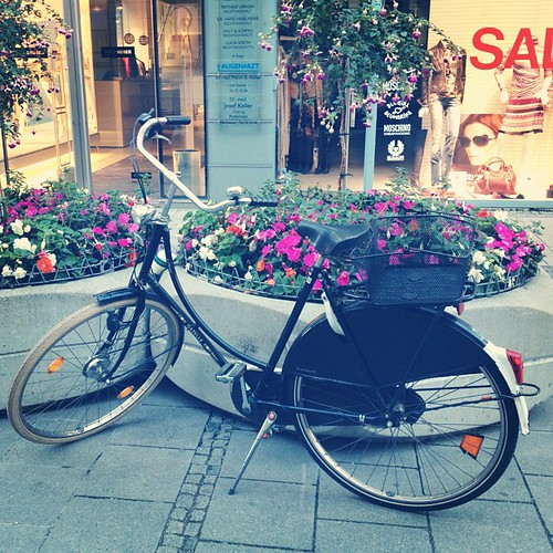 Beautiful bikes in Munich