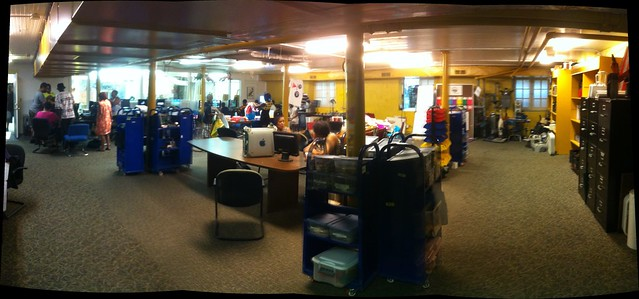 Mt Elliot Makerspace Panorama #igdetroit