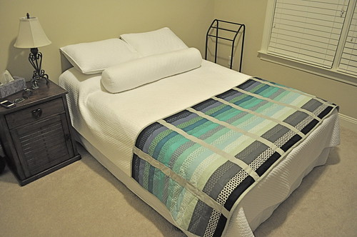 make a quilted bed runner 2