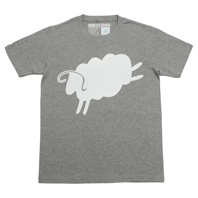 CAC-020 Big Cycle Sheep Tee Gray