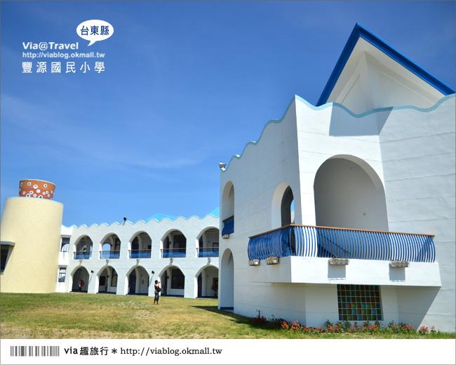 【台東地中海國小】台東豐源國小~一起探訪全台最美的小學!!25