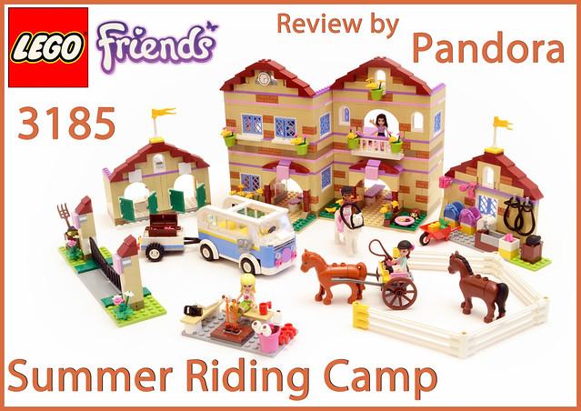 Review 3185 Summer Riding Camp Lego Town Eurobricks Forums