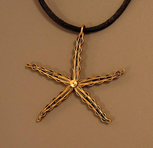 Starfish Quilled Pendant Tutorial