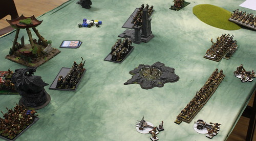 Battle 1 Vs Warriors of Chaos  - Turn 2 WoC