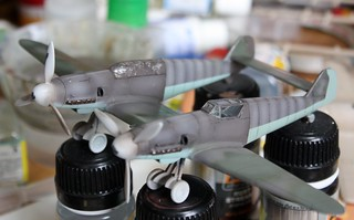 "A-Model ""72217 Bf109Z"" -9"