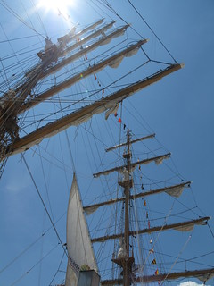 Sailabration - masts & flare