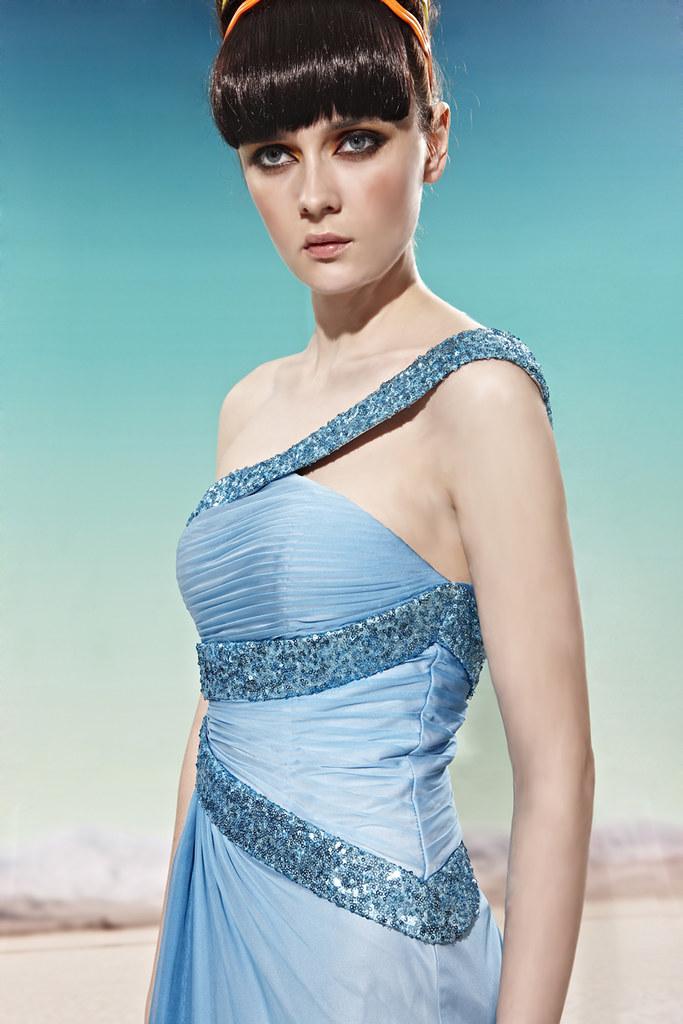 81cecbe85 Vestido Azul Ombré Ref. 56925 - La Goddiva · Vestidos de Festa ...