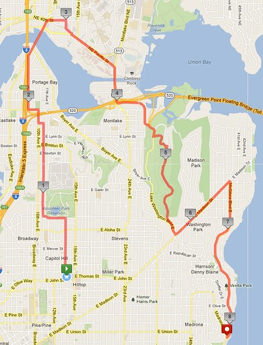 Today's awesome walk, 8.13 miles in 2:35 by christopher575