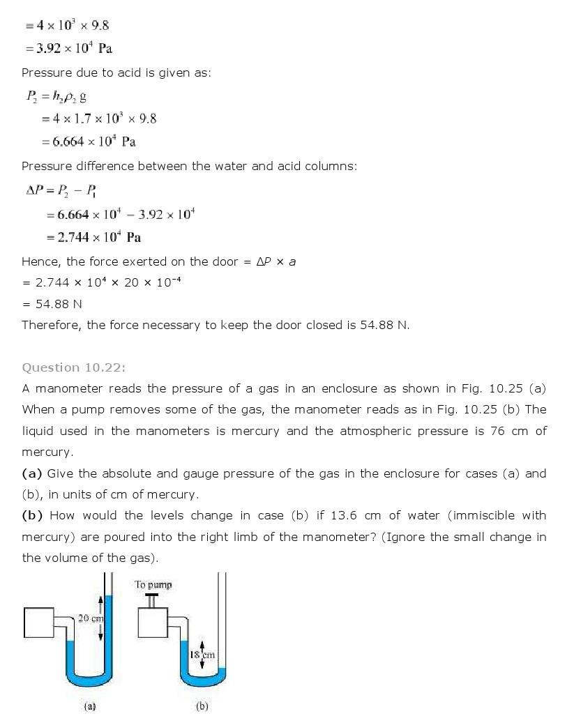 mechanical properties of fluids