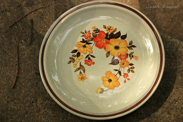 Thrifted plate