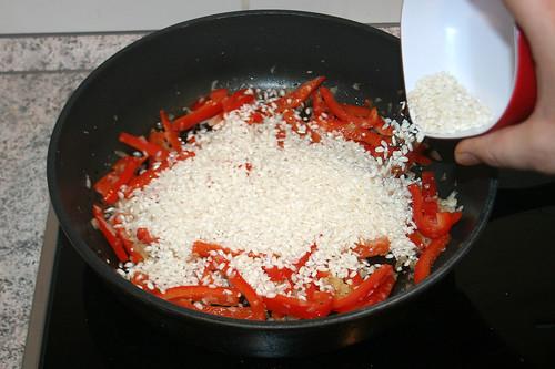 27 - Reis dazu geben / Add rice