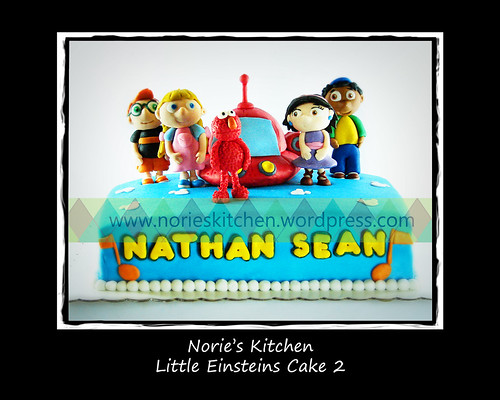 Norie's Kitchen - Little Einsteins Cake 2 with Elmo by Norie's Kitchen