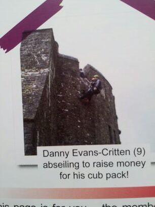 , Danny's First Abseil #CHD