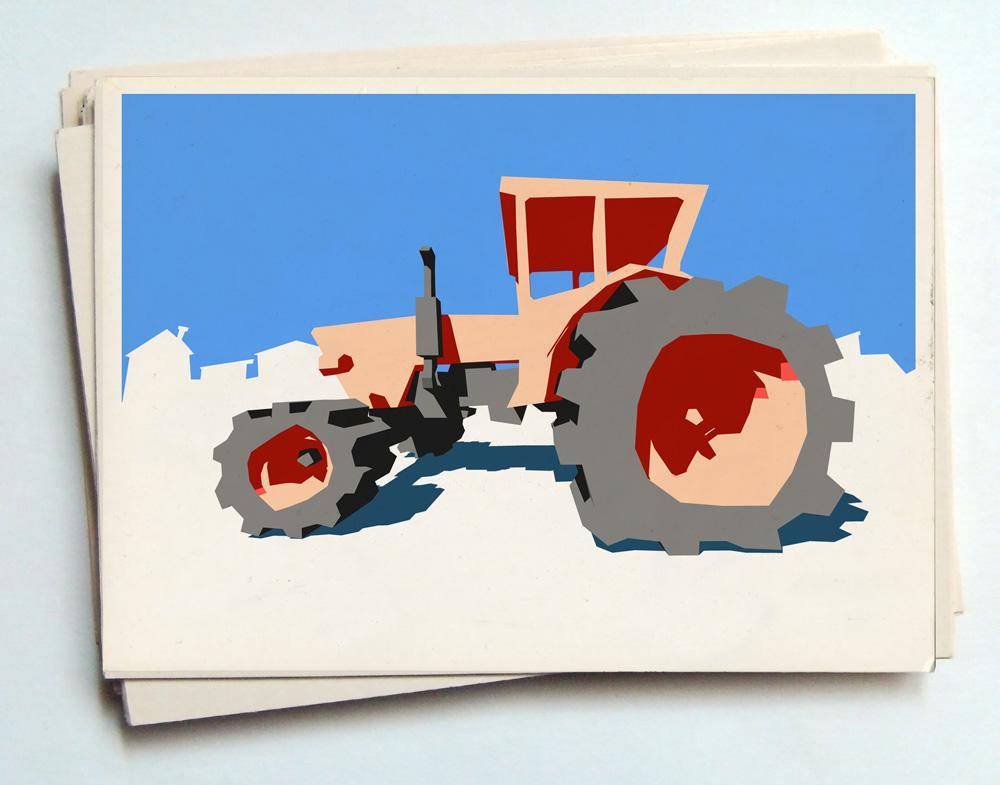 Рисунок трактора