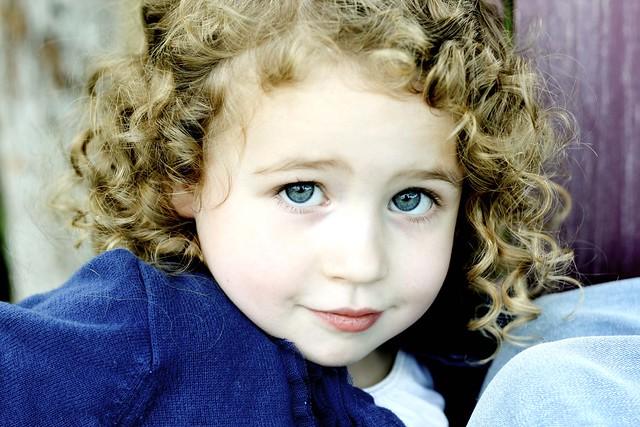 girl curls