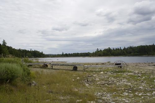 lake maine shore ragged