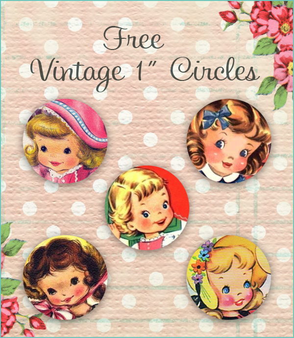 free vintage 1 inch circles by FPTFY web ex
