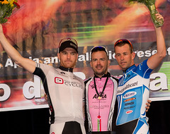 H Clarke on Podium-Men's Race-Giro di Burnaby-BCSuperweek 2012