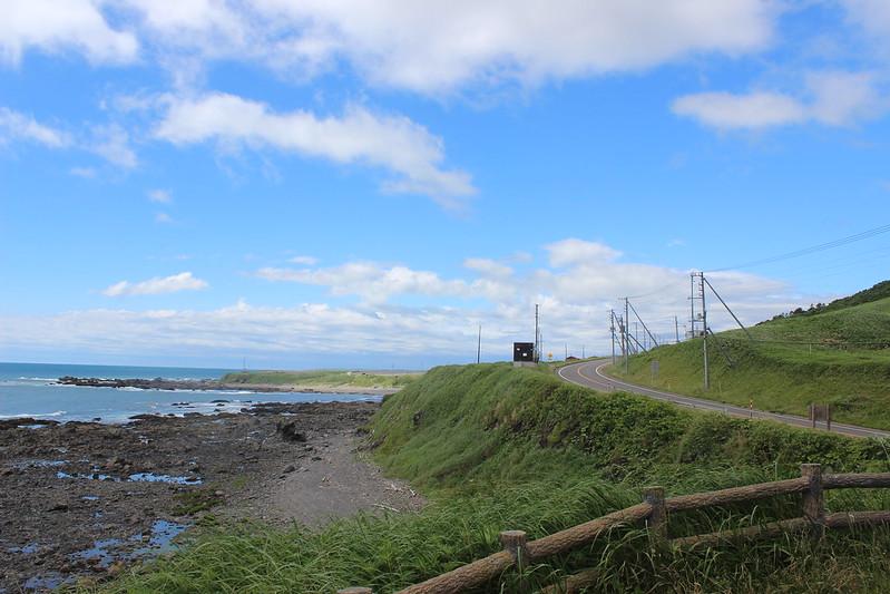 襟裳岬へ向かう道 その1