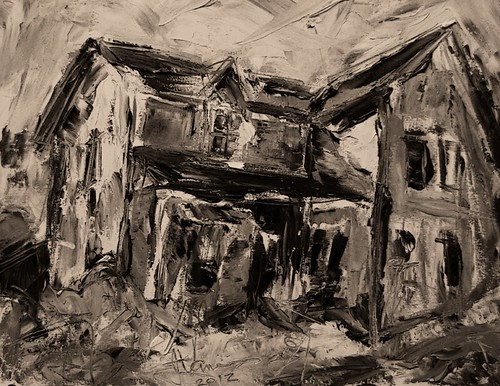 Abandoned Farm House - Howe Island ( digital )