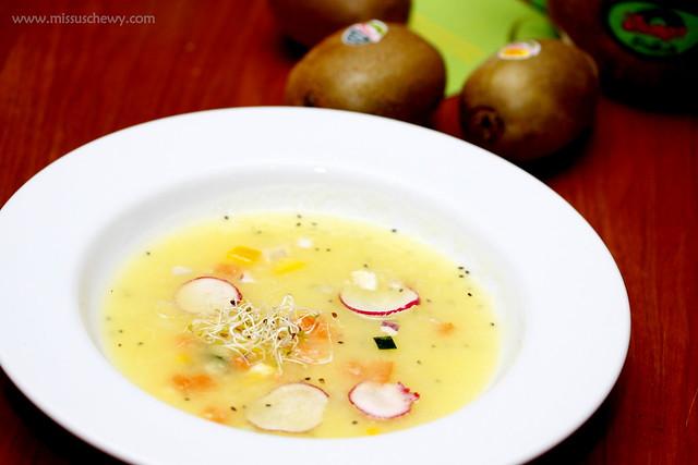 Zespri Kiwi Dinner @ The Living Cafe 025