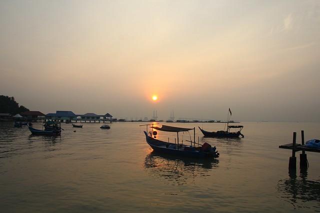 Sunrise: Teluk Tempoyak @ Batu Maung, Penang