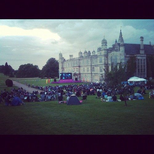 Watching Mamma Mia @burghley with family