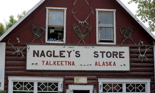 Nagley's Store, Talkeetna, Alaska by RV Bob