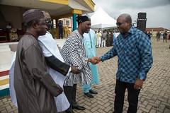 President Mahama attends this year's  Zongo Youth Association's Annual Gargajiya Festival in Kumasi