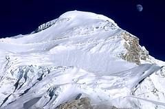 Expedition Cho Oyu. Nordwest-Flanke von Tibet aus. Foto: Archiv Härter.