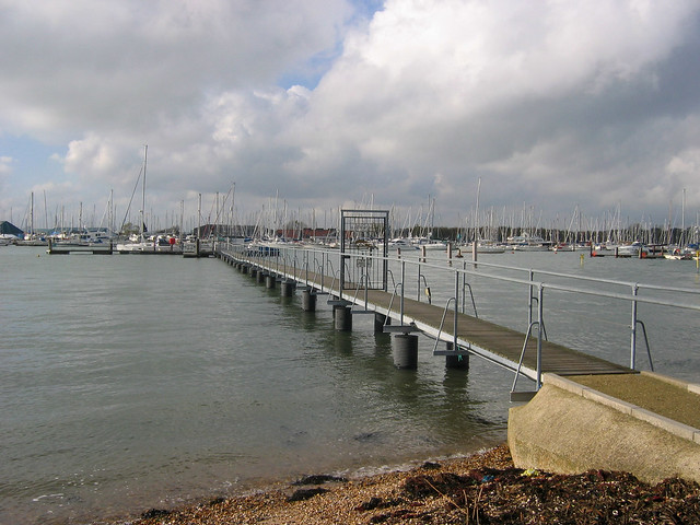 The coast near Warsash