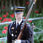 Tomb of the Unknown Soldier - guard 02 - Arlington National Cemetery - 2012