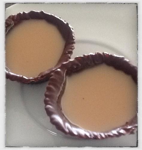 Bombones de Gelatina de Crema de Orujo