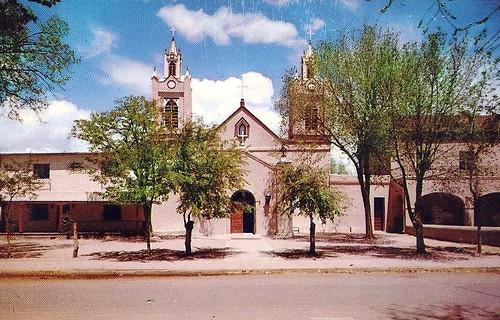 San Felipe de Neri Church, Old Town Plaza, Albuquerque, New Mexico