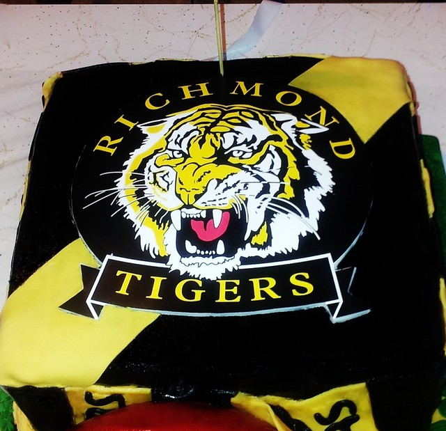 Richmond Afl Cake Cake Ideas And Designs