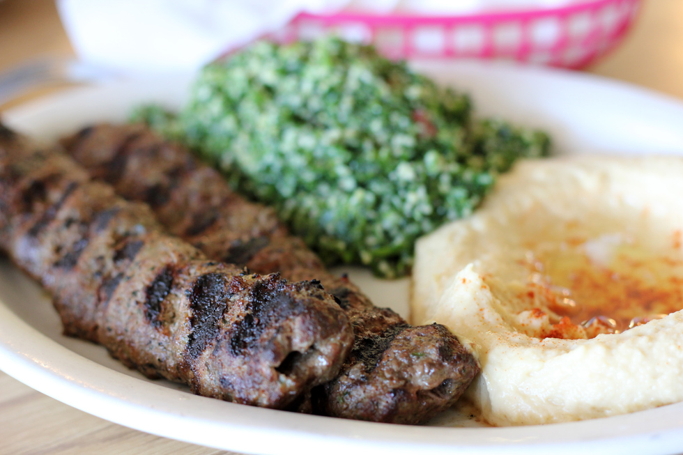 6985373098 071715d739 o Photo: Lip licking Lebanese Kafta Kebabs