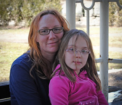 Clover & Mommy in a Gazebo 2 by Clover_1