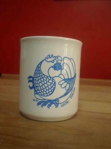 Metso-mug, blue