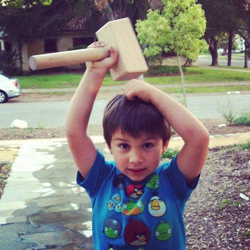 """Mommy, I want to be Thor"""
